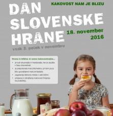 Dan slovenske hrane (18. 11. 2016)