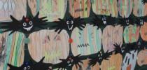Strašne buče in netopirji za noč čarovnic 2016 (1. e in 2. d)