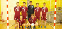 2. mesto naših fantov na občinskem prvenstvu v malem nogometu (9. 12. 2016)