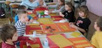 Ustvarjanje v 3. D razredu (1. 12. 2016)
