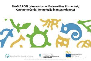 Projekt NA-MA POTI: Spremljava pouka pri tujem jeziku angleščina (11. 5. 2018)